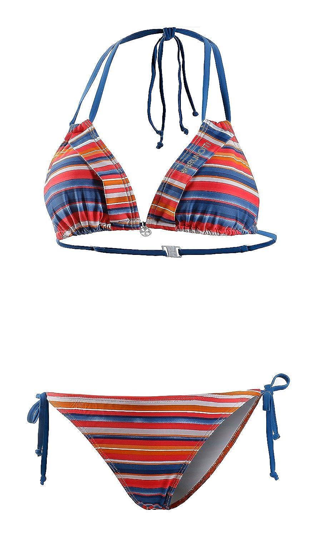 Brunotti Damen Triangel Bikini (40, bunt)