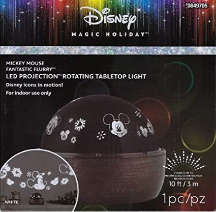 Disney Minnie Mouse Projector Light w//Rotating Head Includes 3 Image Plates