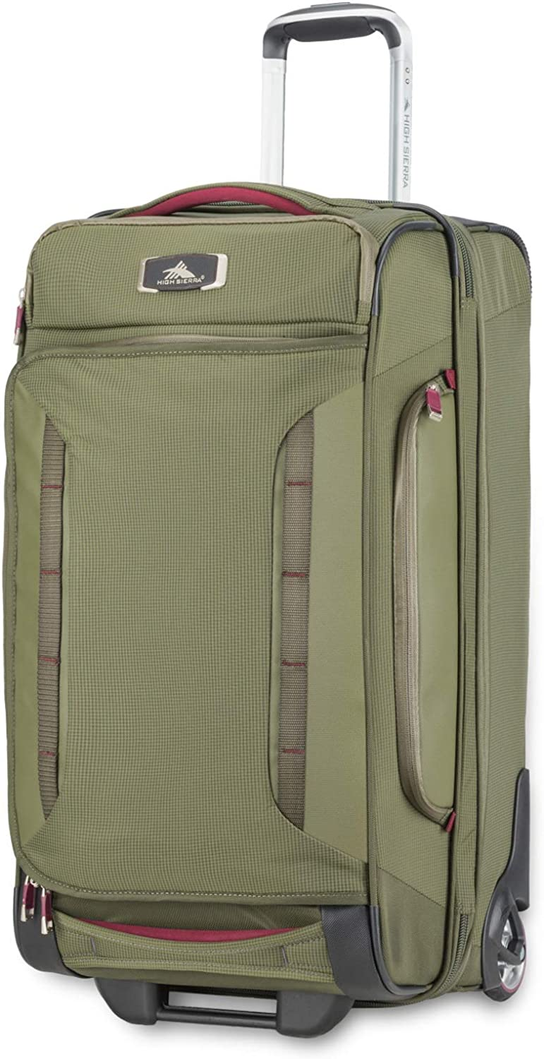 High Sierra AT8 Wheeled Upright Duffel Bag