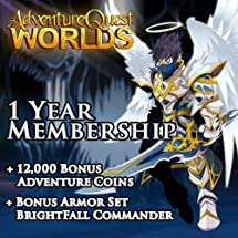 Amazon com: 1 Year Membership and 12000 AC: AdventureQuest Worlds