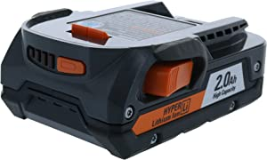 Ridgid Genuine OEM AC840086 18V 2AH Hyper Lithium-Ion Single Battery