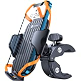 Andobil Bike Phone Mount,【Super Stable & Anti Shake】 Universal Motorcycle Bicycle Handlebar Cell Phone Holder Compatible with