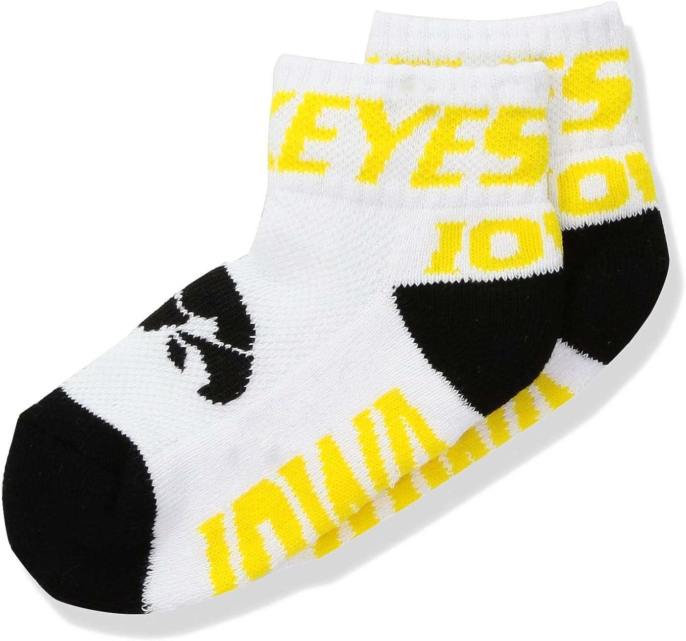 Black Donegal Bay NCAA Iowa Hawkeyes Dress Socks