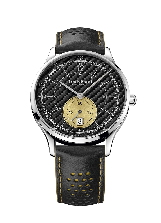 Louis Erard 1931コレクションスイス自動ブラックダイヤルメンズ時計3322 aa32 B074SC5RMW
