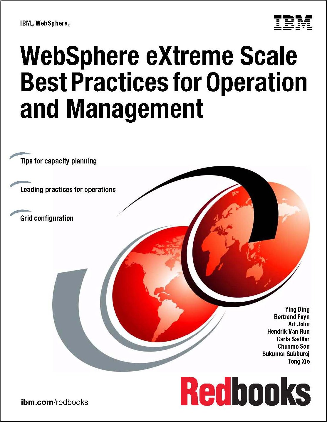 Websphere Extreme Scale Best Practices for Operation and Management PDF