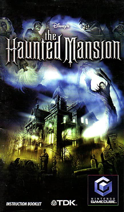 Amazon The Haunted Mansion Gamecube Instruction Booklet