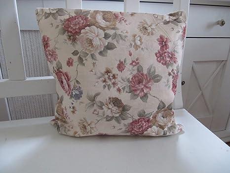 Textil Serie Roses Selección funda de cojín (40 x 40 O. 50 x ...