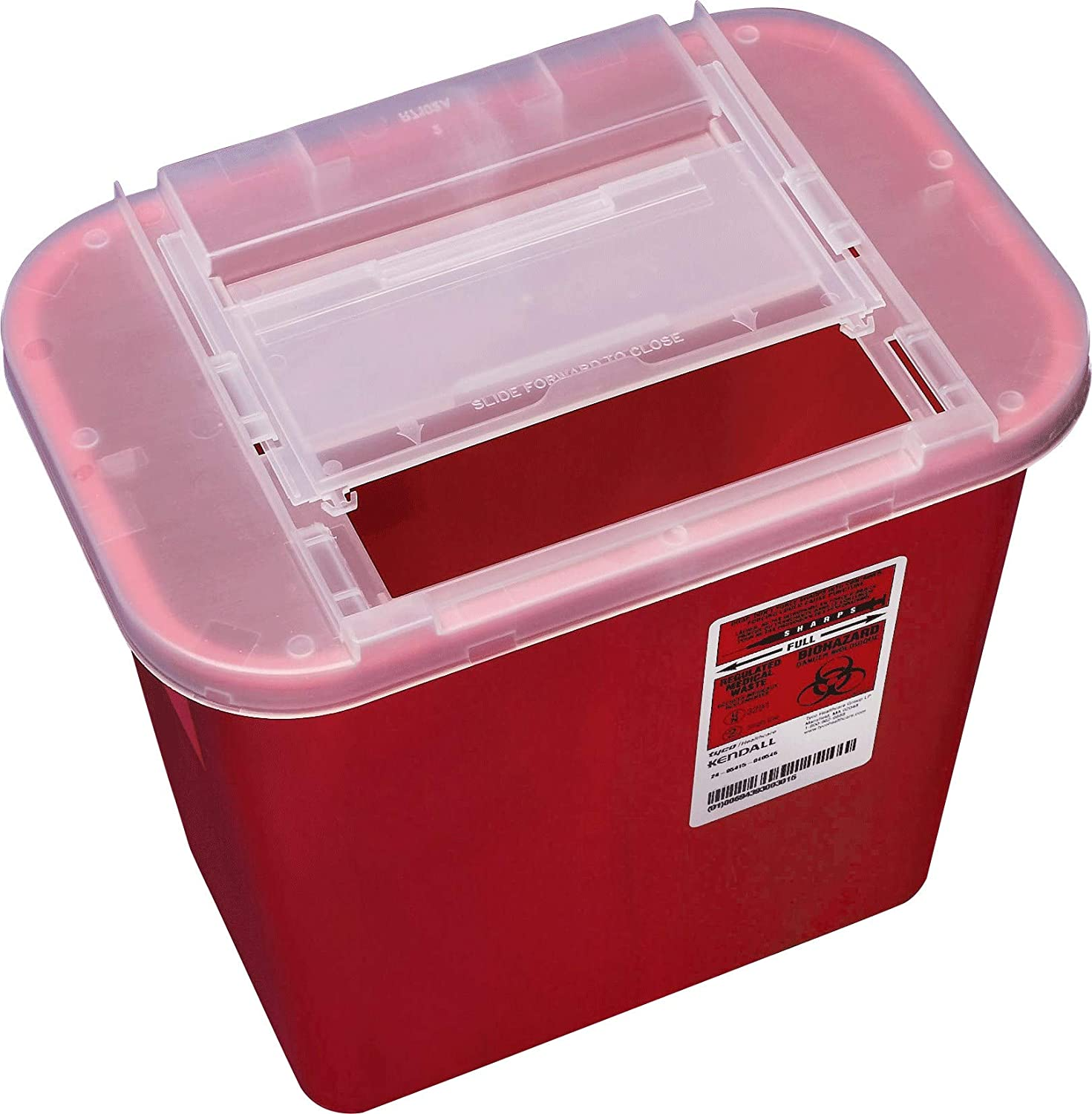 Kendall/Covidien Sharps-A-Gator 31142222 Multi-Purpose Sharps Container. 1Count: Health & Personal Care