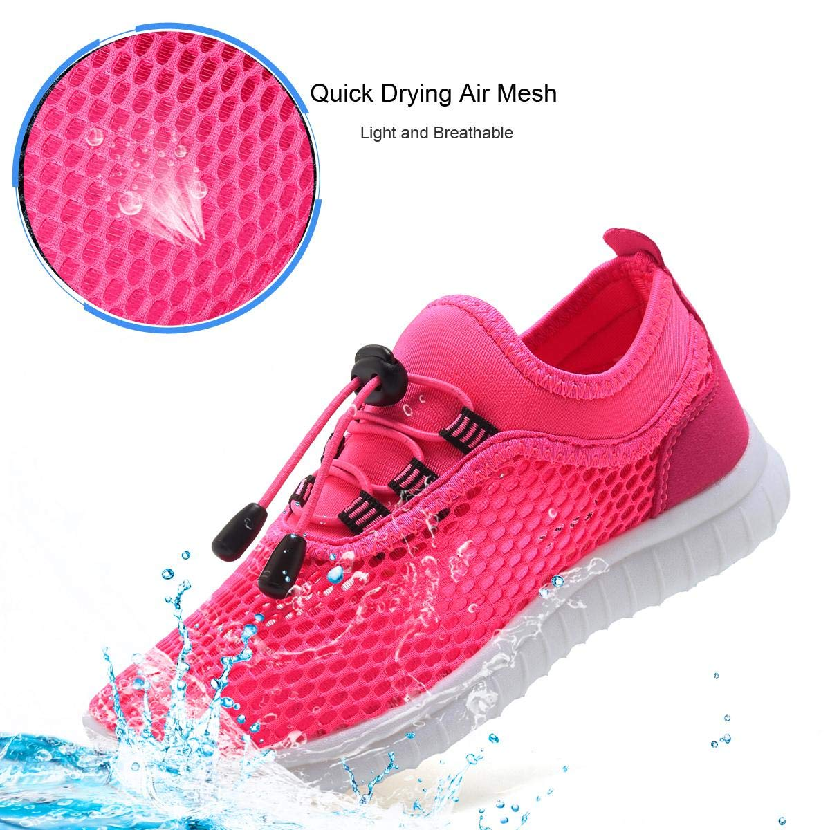 Water Shoes for Boys and Girls Toddler//Little Kids//Big Kids