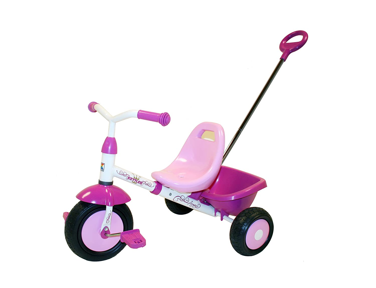Kettler Kettrike Alana Tricycle With Pushbar Toys Games