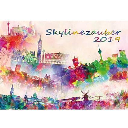 Skyline II mágica · DIN A3 · Premium Calendario 2019 · Estados ...