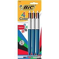 Deals on BIC 4-Color Ballpoint Pen, Medium Point 3-Count