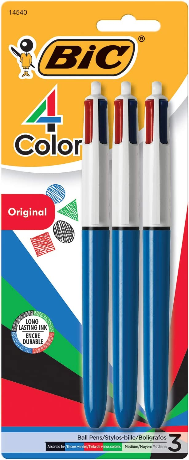BIC 4 Colour Pen- All in One Pen