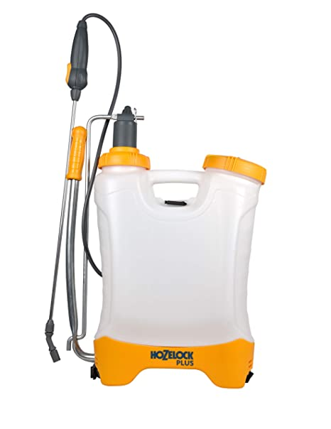 Hozelock - Pulverizador Plus Confort 16 litros Hozelock - Mochila ergonómica para diestros y zurdos.