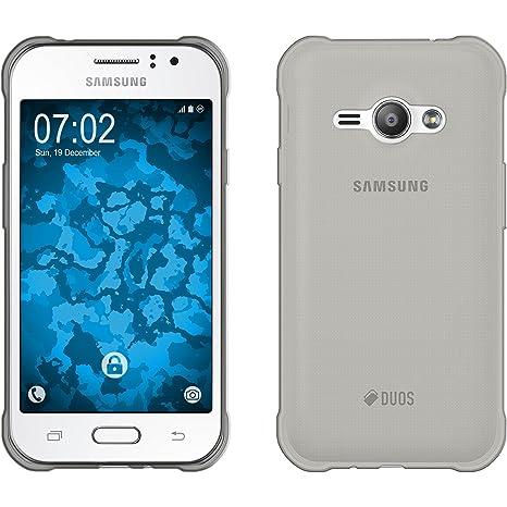 db9bdbd3841 PhoneNatic Funda de Silicona Compatible con Samsung Galaxy J1 Ace:  Amazon.es: Electrónica