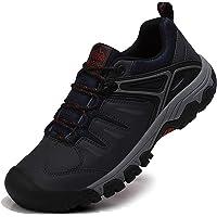 ASTERO Zapatillas Senderismo Hombre Zapatos Trekking Antideslizantes Bajos Botas de Montaña AL Aire Libre Transpirable…