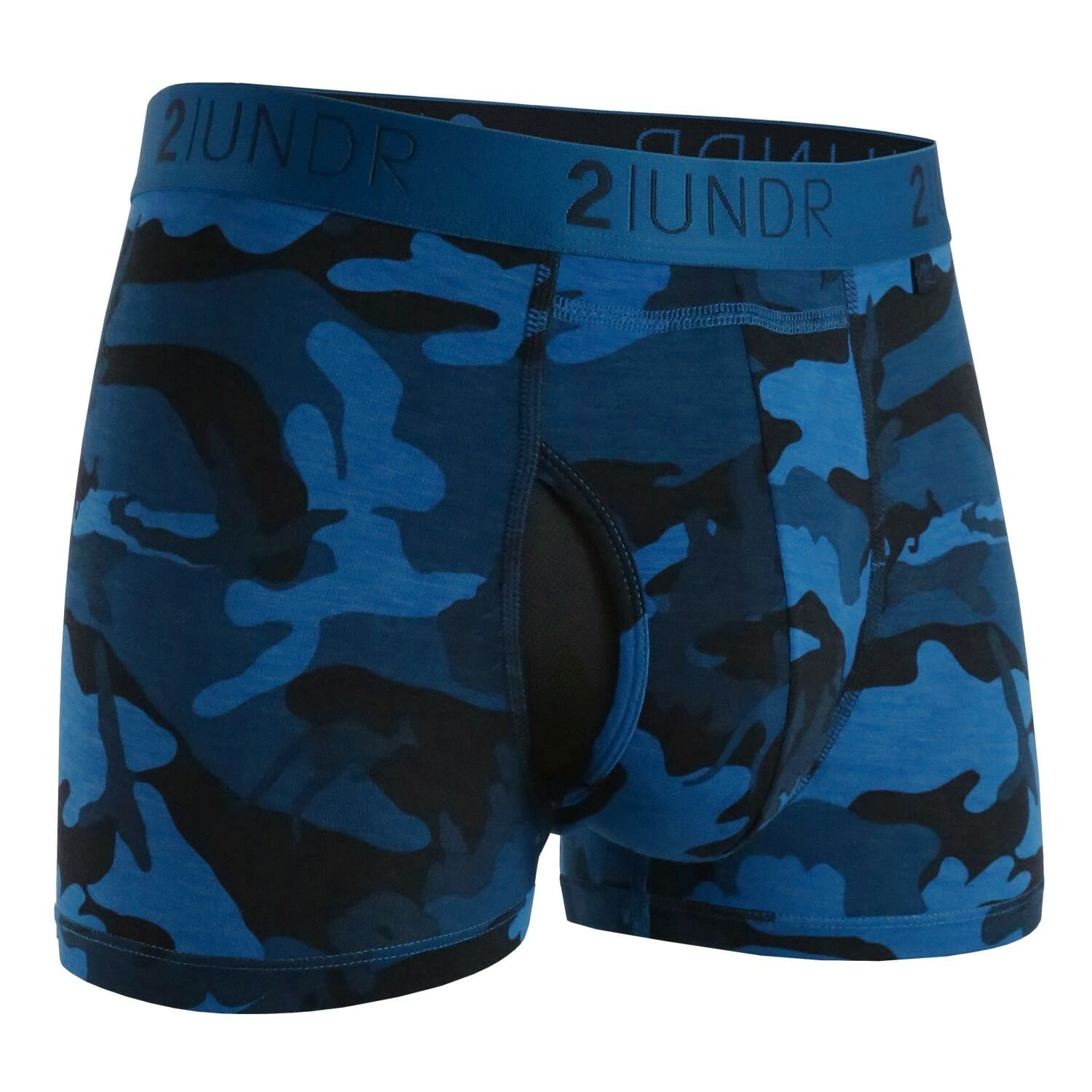 2UNDR Gear Shift Men's Joey Pouch Performance Underwear for Better Support, Less Chafing and Enhanced Profile. Compression Fit aids Sporting Performance. Trunk Style