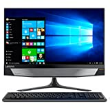 "Lenovo Ideacentre AIO 720-24IKB Desktop All-In-One con Display da 23.8"" FullHD TOUCH, Processore Intel Core I5-7400, RAM 8 GB, 1TB HDD, Scheda Grafica Nvidia GTX 960, S.O. W10 Home, Nero"