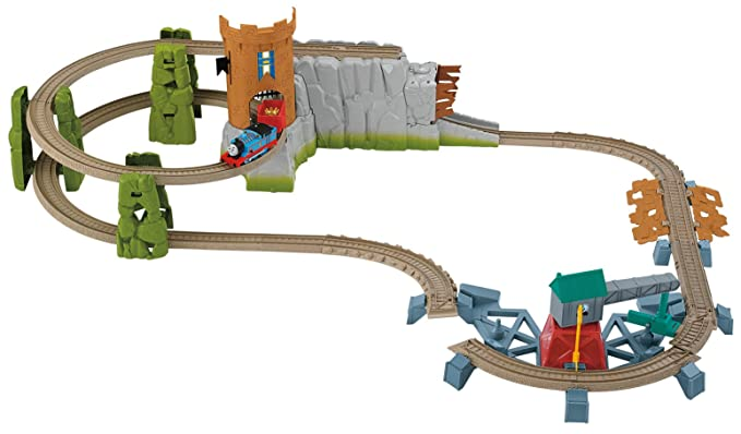 Amazon Thomas Friends Fisher Price Trackmaster Castle Quest