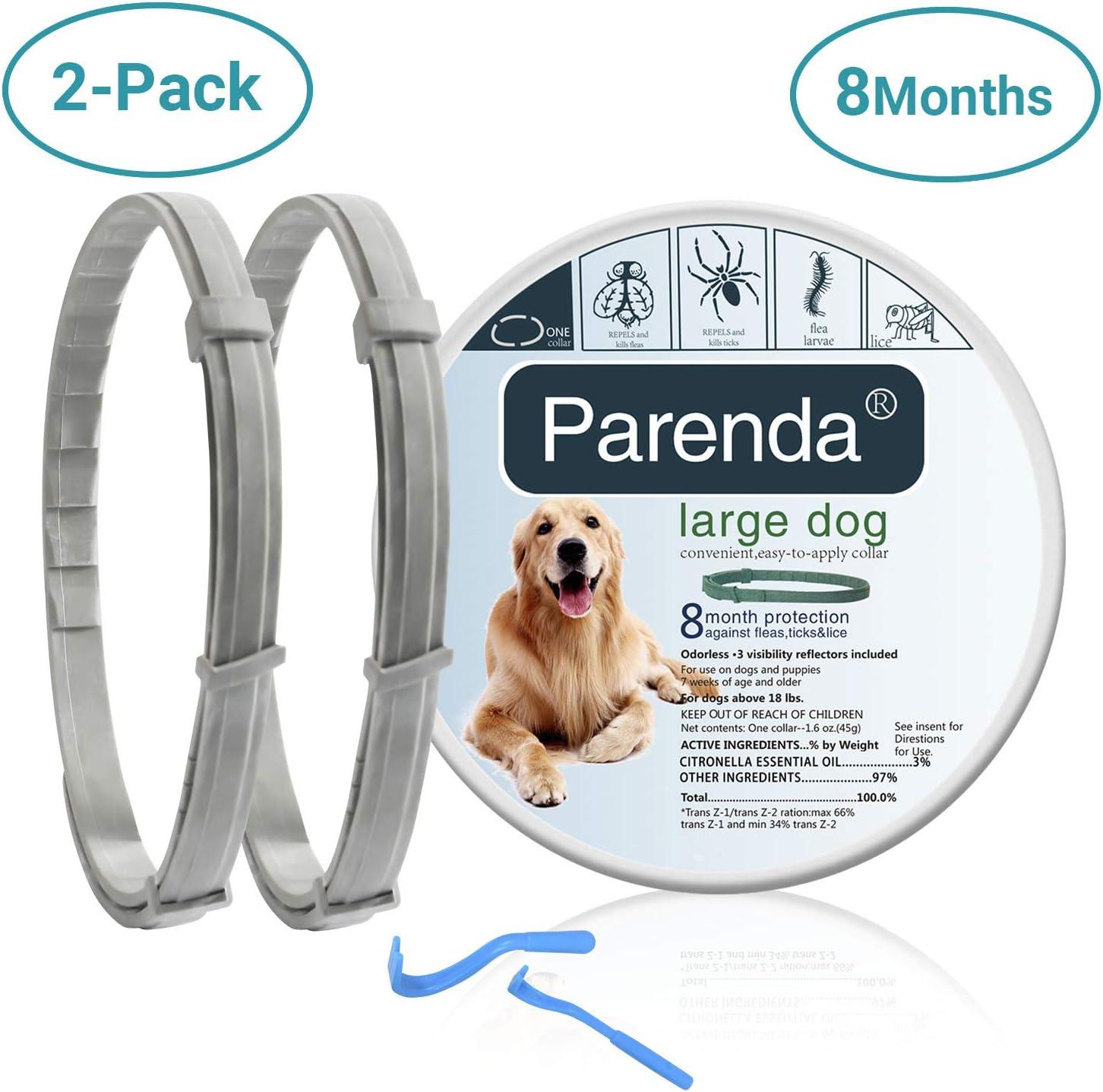 Parenda Dog Flea and Tick Collar review