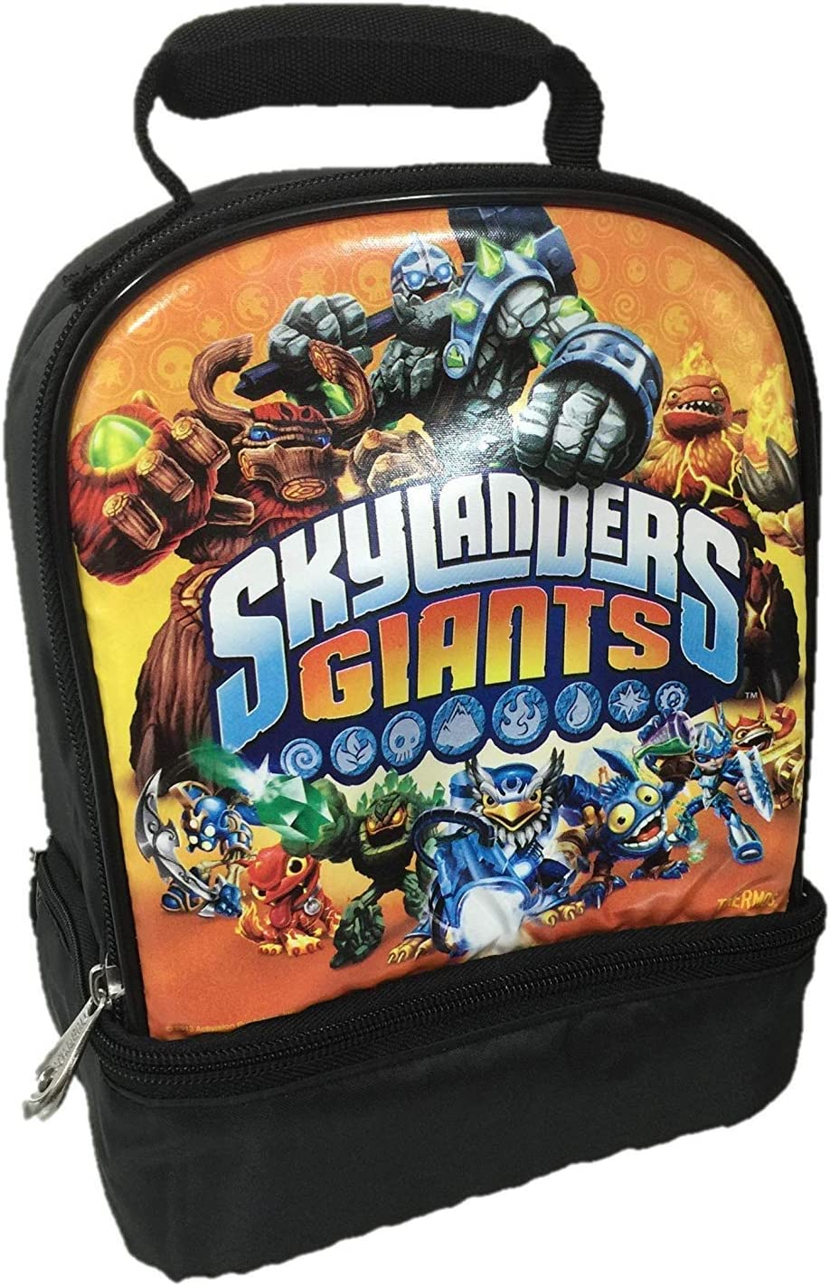 Thermos SKYLANDERS GIANTS Dual Lunch Kit, 7.5 W x 5 D x 9.5 H Inch