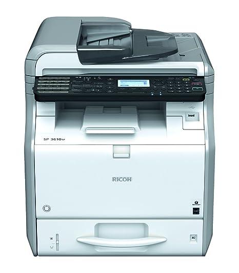 Ricoh SP 3600SF - Impresora multifunción (Laser, Mono, Mono, 30 ...