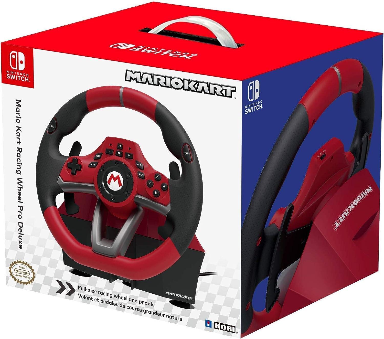 HORI - Volante Mario Kart Pro Deluxe (Nintendo Switch/PC): Amazon ...