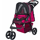 PETIQUE Razzberry Pet Stroller, Razzberry, One Size (ST01100103)