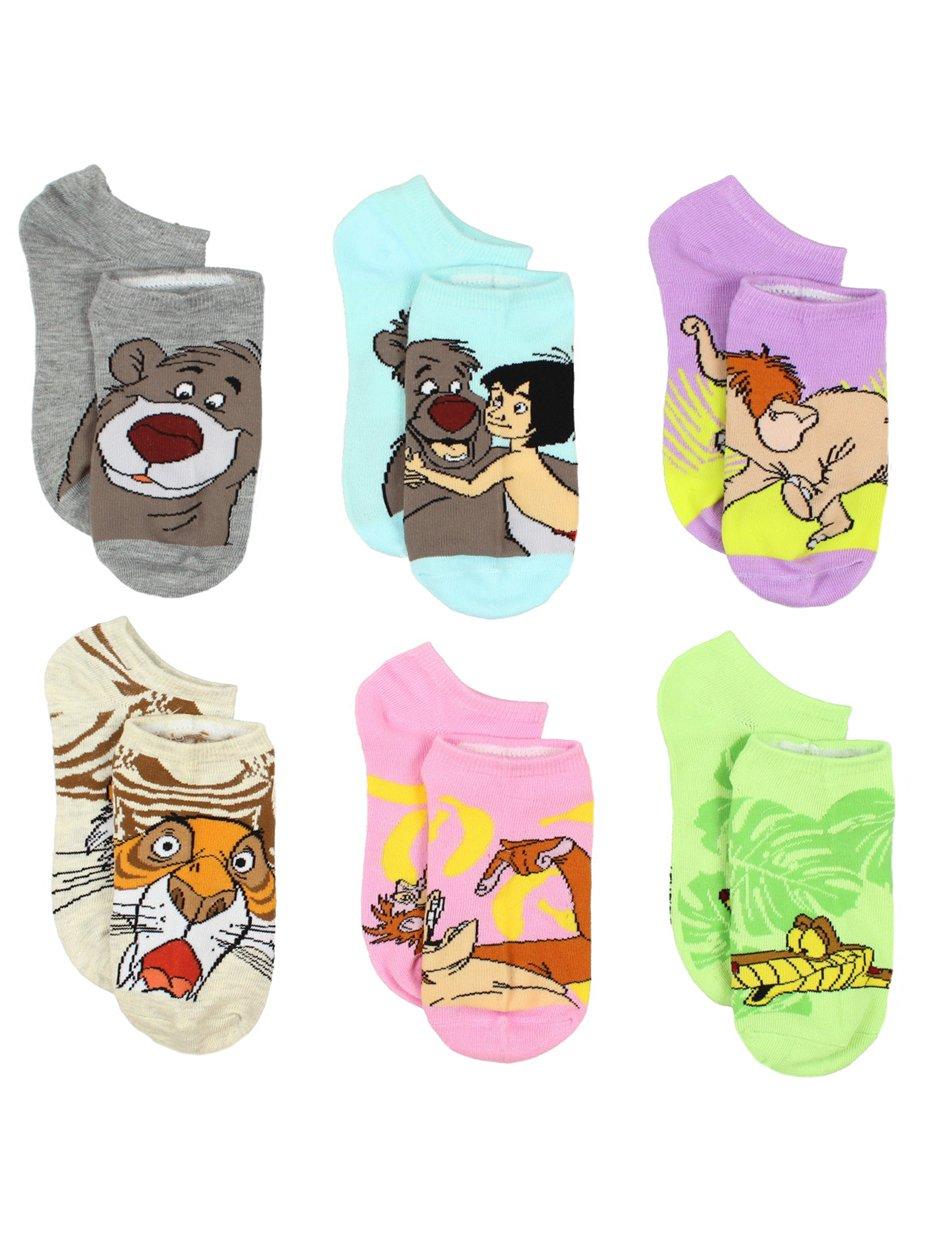 The Jungle Book 6 pack Socks