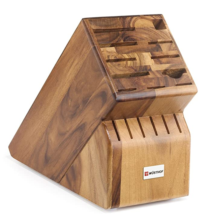 Wüsthof - 17-Slot Acacia Knife Block
