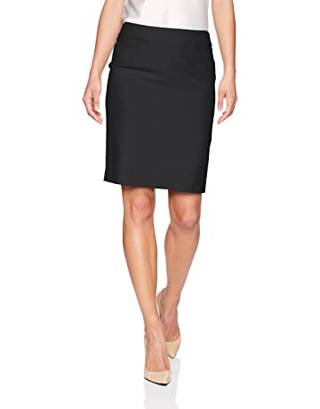 a05be8274712 Calvin Klein Women's Petite Lux Straight Skirt