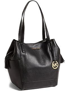 Michael Kors Ashbury Large Leather Shoulder Bag in Acorn  Handbags ... 52f38d5ce88f0