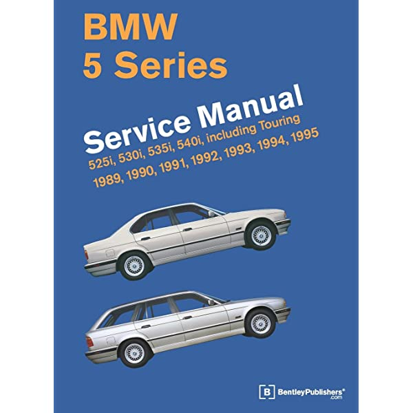 bmw 5 series (e34) service manual: 1989, 1990, 1991, 1992, 1993, 1994,  1995: bentley publishers: 9780837616971: amazon.com: books  amazon