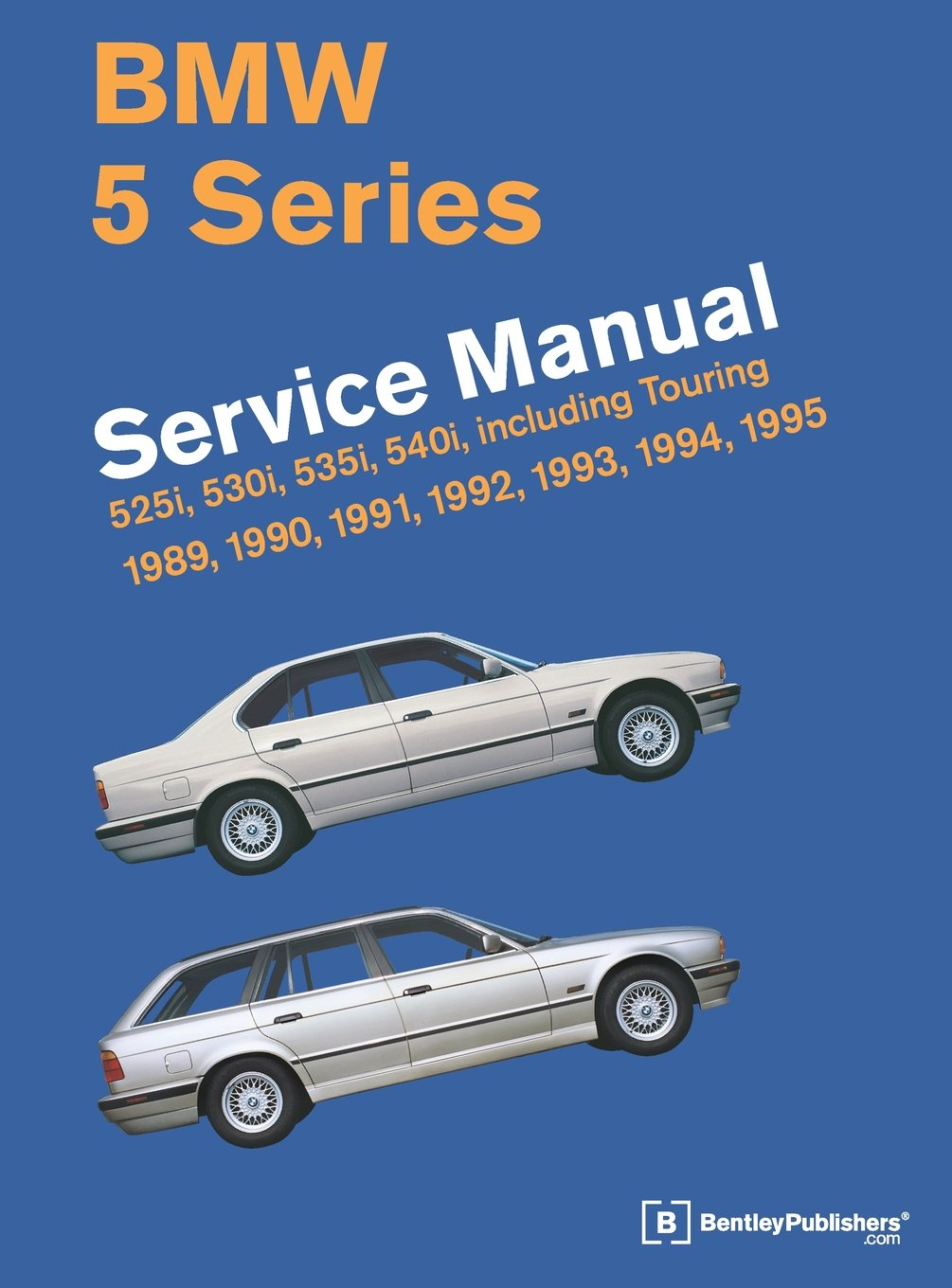 1994 Bmw 525i Wiring Diagram 5 Series E34 Service Manual 1989 1990 1991 1992 1993 1995 Bentley Publishers 9780837616971 Books