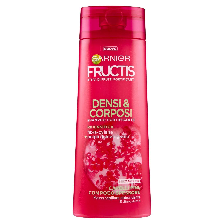 Garnier Fructis gruesos & corposi Shampoo para Cabello Fino, 250 ml: Amazon.es: Belleza