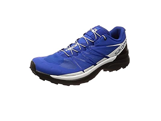 Salomon Wings Pro 3, Zapatillas de Trail Running para Hombre, Azul (Nautical Blue