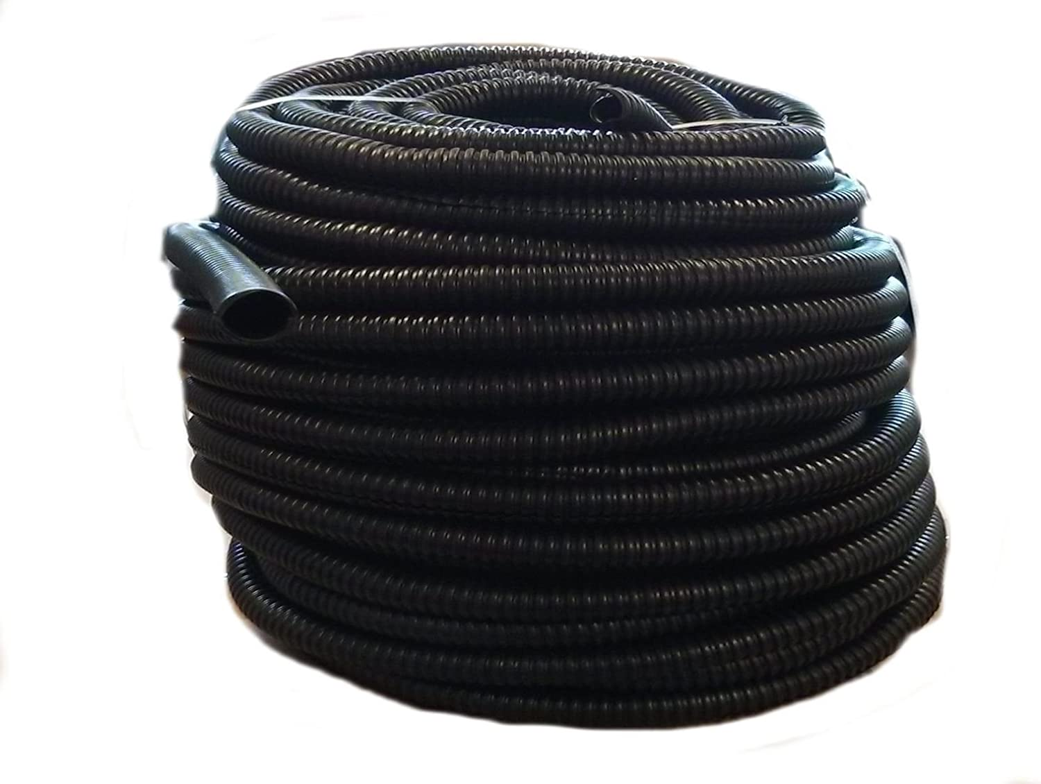50 FT 1//2 INCH Black Split Loom Wire Hose Cover Conduit Poly Tube TUBING 4