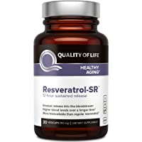 Quality of Life - Powerful Anti Aging - All Natural Formula Resveratrol SR - 30...