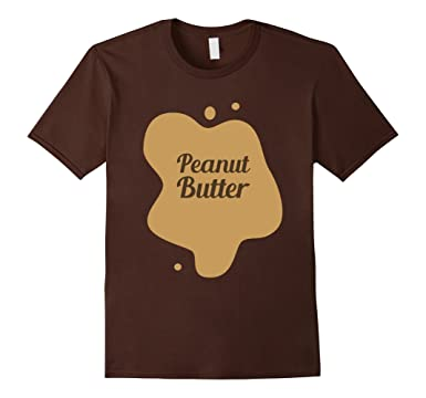 mens peanut butter and jelly sandwich toast halloween costume 2xl brown