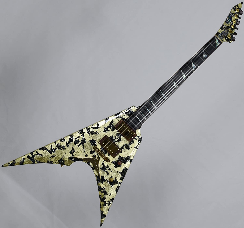 Esp exposición limitada arrow-nt oro lacado para guitarra eléctrica: Amazon.es: Instrumentos musicales