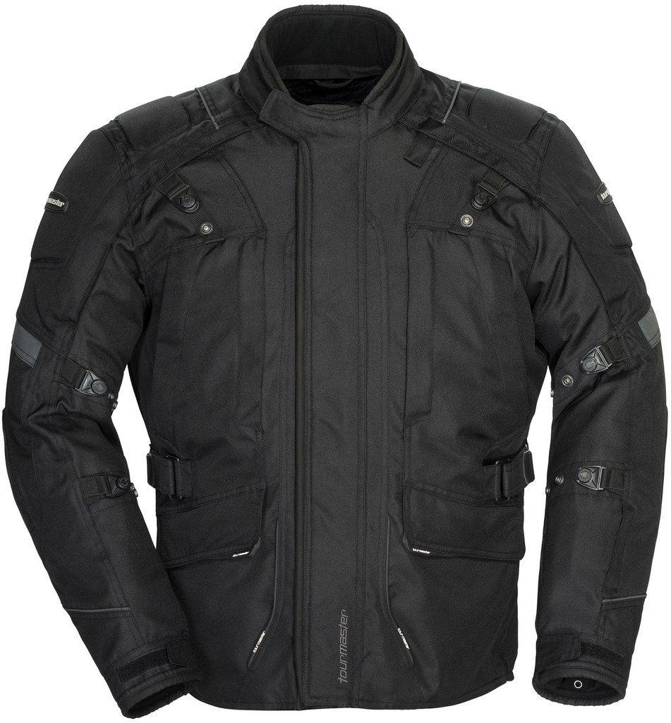 Tourmaster Transition 4 Mens Black Textile Jacket - Medium Tall
