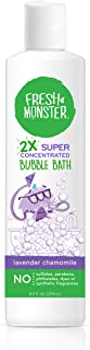 product image for Fresh Monster Bubble Bath Kids, Natural, 2X Super Concentrated, Hypoallergenic and Calming Lavender (1 Count, 8.5oz)