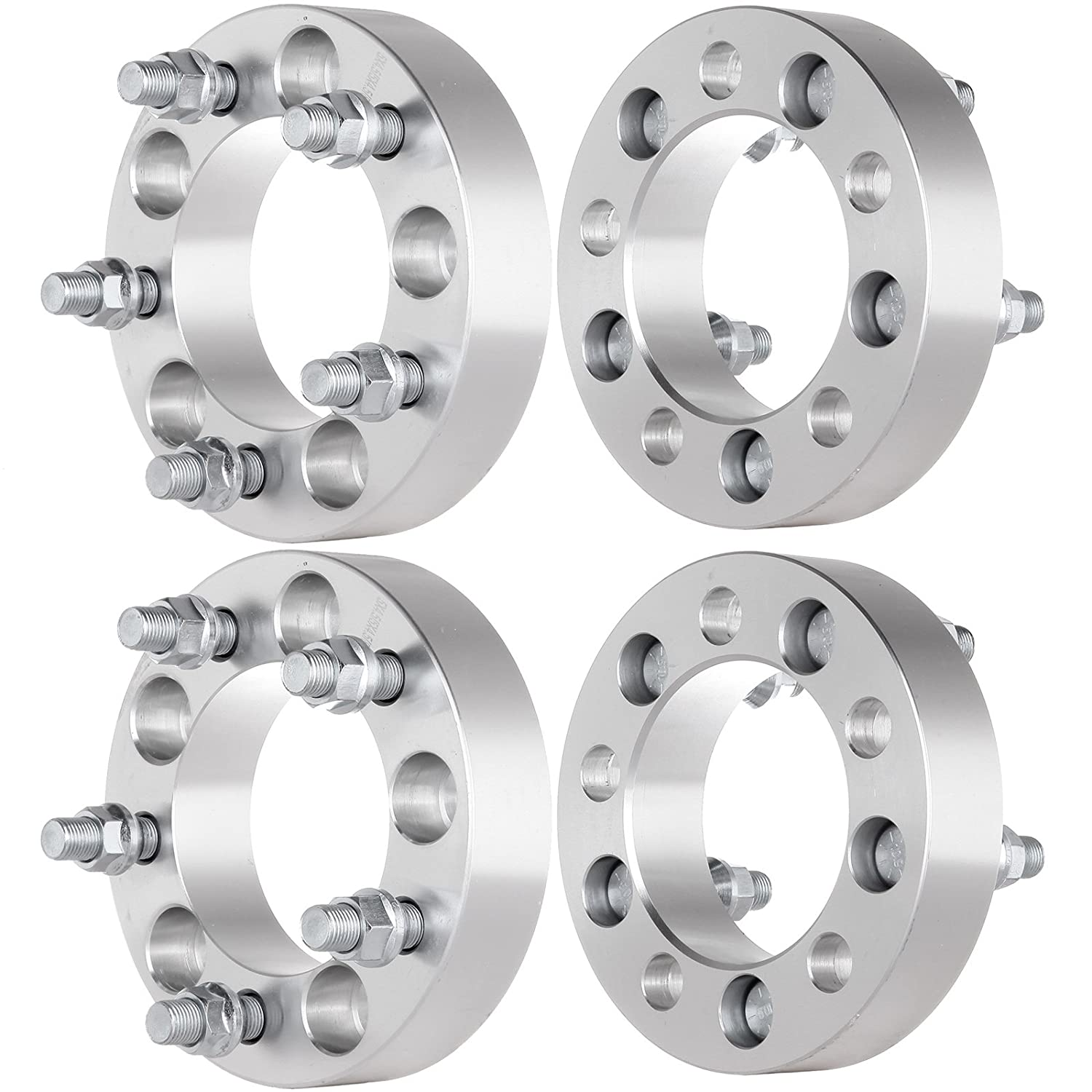 ECCPP 5x4.5 Wheel Spacers, 5 lug Wheel Spacers 4X 1.25 5x4.5 to 5x4.5 87.1mm 1/2' x 20 Fit for 2006-2012 Jeep Liberty|1989-1998 Jeep Grand Cherokee Wrangler 1.25 5x4.5