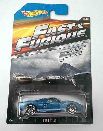 Hot Wheels Fast Furious Fast Five Ford Gt Cast Car
