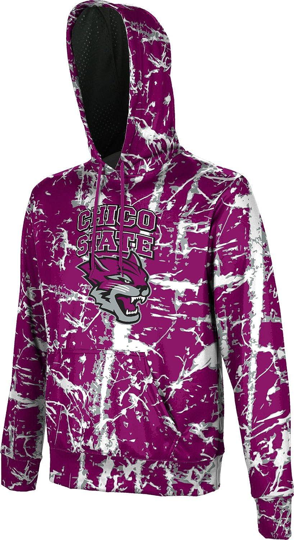 Distressed School Spirit Sweatshirt ProSphere California State University Chico Mens Pullover Hoodie