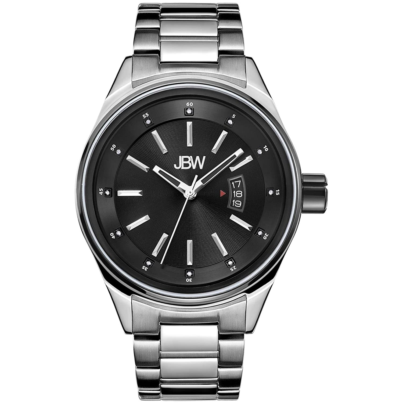 JBW ダイヤモンド Men's Stainless Steel Watch ROOK B01BMOV1ZA Stainless/J6287M Stainless/J6287M