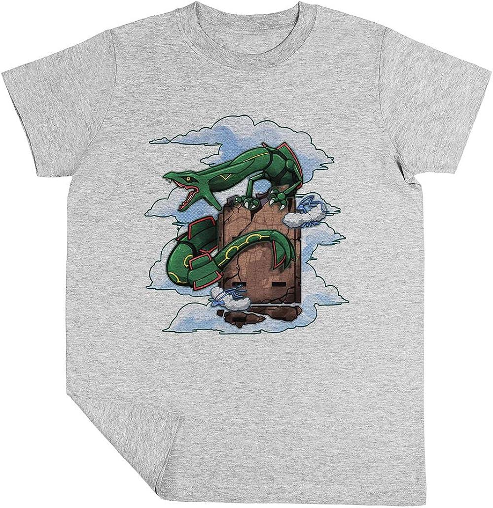 Esmeralda Ni/ño Ni/ña Unisexo Gris Camiseta Manga Corta Kids Grey T-Shirt