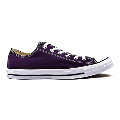 de194b604e9 Converse All Star Eggplant Peel Ox Trainers  Amazon.co.uk  Shoes   Bags