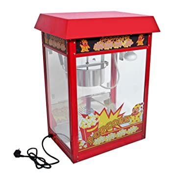 Giantex 8oz Deluxe Popcorn Popper Maker Machine Red Table Top Tabletop  Theater (Red)