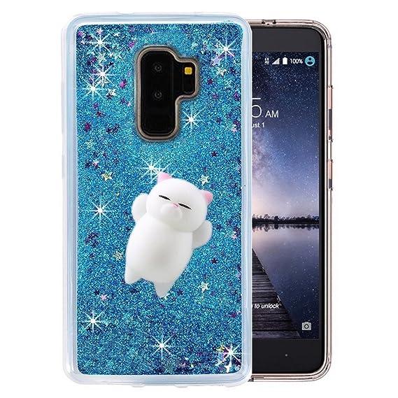 first rate 14d18 18b03 Amazon.com: Galaxy S9 Plus Glitter Squishy Case,3D Soft Poke Squishy ...